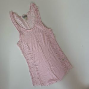 Intimately Free People Tank Top Size S Lace
